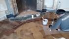 Tonalizzazione porzioni nuove legno